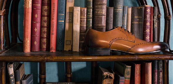 Šněrovací společenská obuv