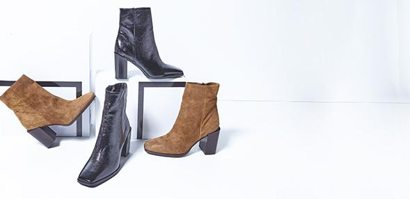 Polokozačky / Kotníkové boty