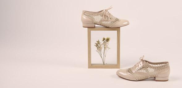 Šněrovací polobotky  & Šněrovací společenská obuv